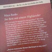 Banks, Maya – Im Bett mit einem Highlander   (Band 1 McCabe Brüder)